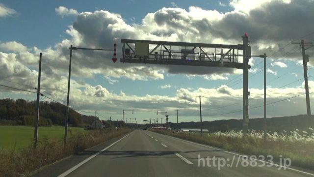 北海道 国道240号線(まりも国道) オービス