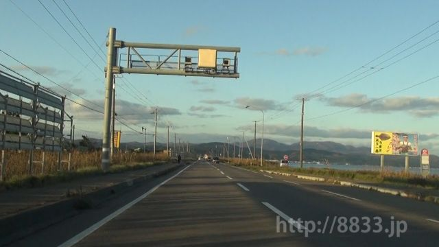 北海道 国道228号線(松前国道) オービス