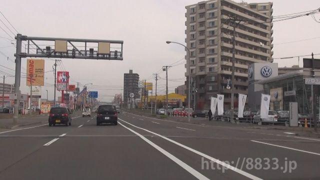 北海道 国道12号線(札幌江別通) オービス