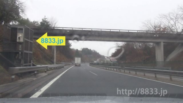 岐阜県 中央自動車道 オービス