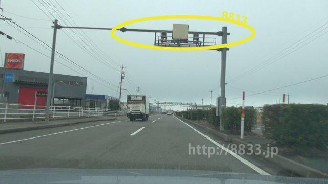 石川県 国道8号線(金沢西バイパス) オービス