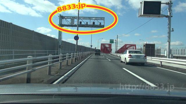 三重県 国道23号線(名四国道) オービス