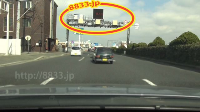 大阪府 国道26号線(第二阪和国道) オービス