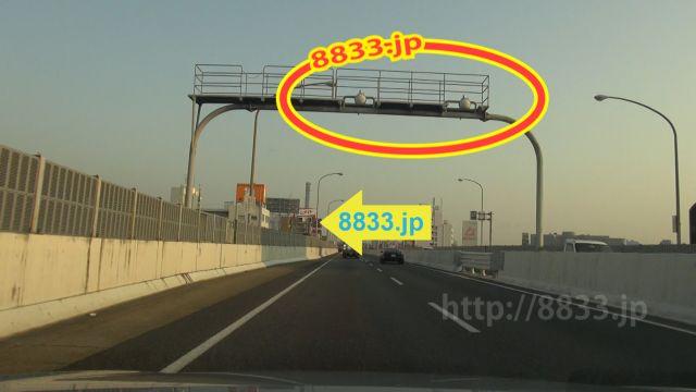 愛知県 名古屋高速3号大高線 オービス