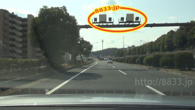 奈良県 国道24号線(奈良バイパス) オービス