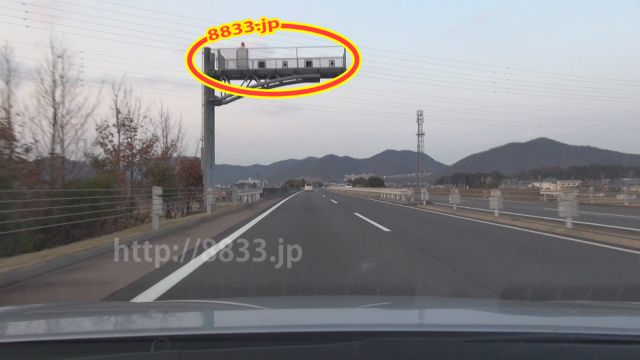 岐阜県 東海北陸自動車道 オービス