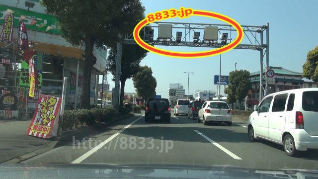 熊本県 国道57号線(熊本東バイパス) オービス