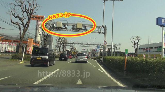熊本県 国道57号線(熊本東バイパス オービス