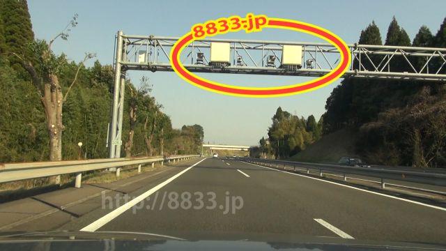 鹿児島県 九州自動車道 オービス