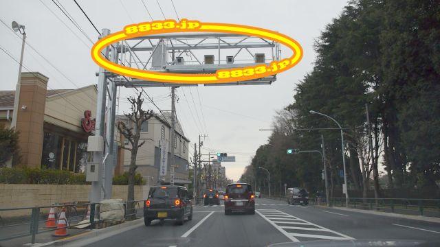 東京都 都道5号線(新青梅街道) オービス