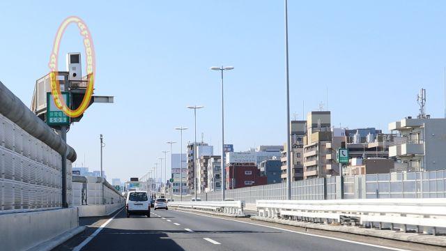 東京都 首都高速7号小松川線 オービス