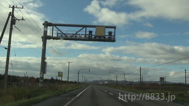 北海道 国道37号線(静狩国道) オービス
