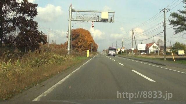 北海道 国道234号線(早来国道) オービス