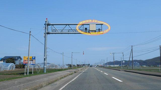 北海道 国道242号線(置戸国道) オービス