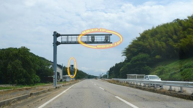 富山県 国道160号線(氷見街道) オービス