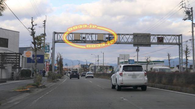 愛媛県 国道56号線(大洲街道) オービス