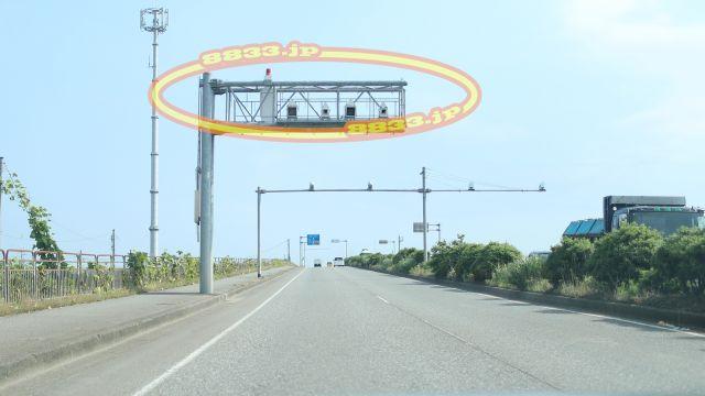 福井県 国道8号線(福井バイパス) オービス