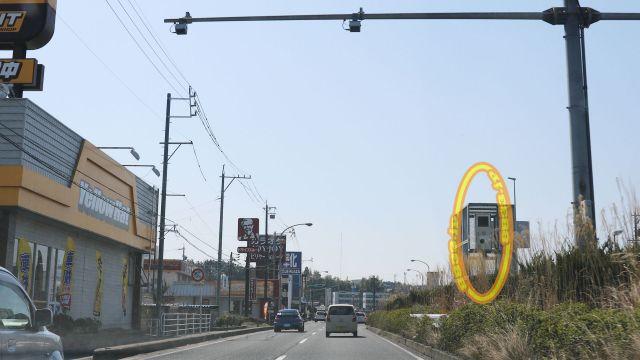 岐阜県 国道19号線(中山道 オービス