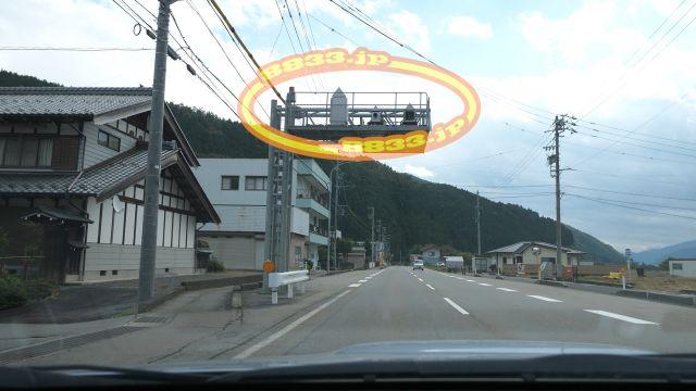 岐阜県 国道156号線(越前街道) オービス
