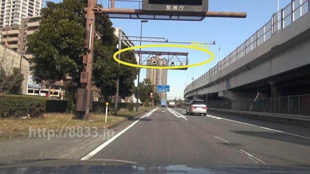 東京都 国道357号線(湾岸道路) オービス
