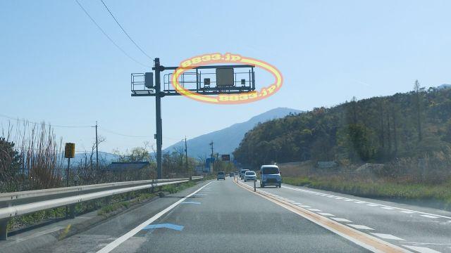 滋賀県 国道161号線(西近江路) オービス