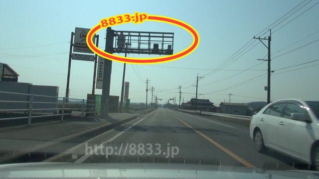 熊本県 国道3号線(薩摩街道・鹿児島街道) オービス