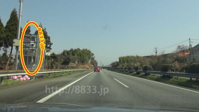 熊本県 九州自動車道 オービス