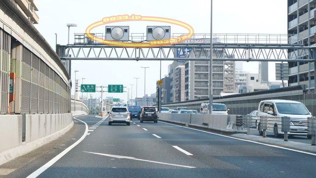 大阪府 阪神高速12号守口線 オービス