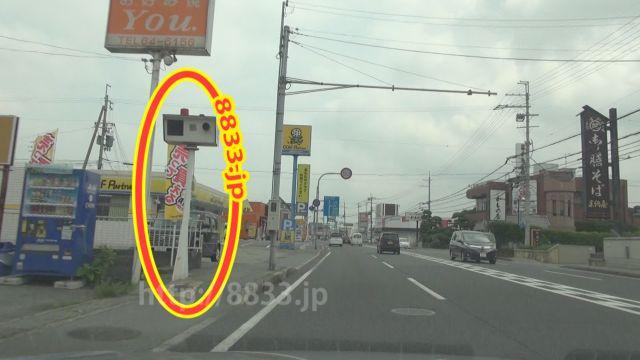 兵庫県 国道312号線 オービス