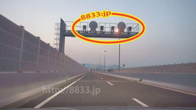 大阪府 阪神高速11号池田線 オービス