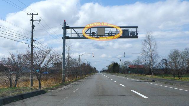 北海道 国道273号線(糠平国道) オービス