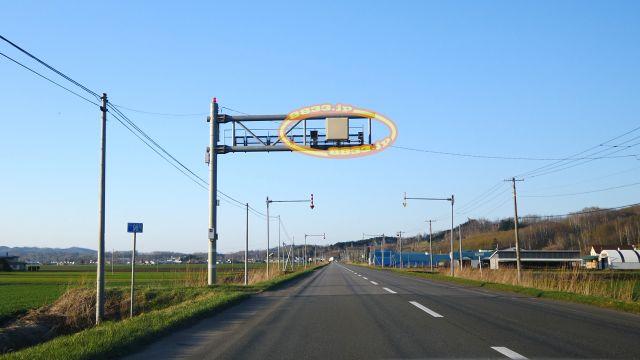 北海道 国道240号線(釧北国道) オービス