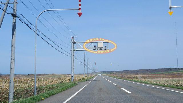 北海道 国道232号線(オロロンライン) オービス