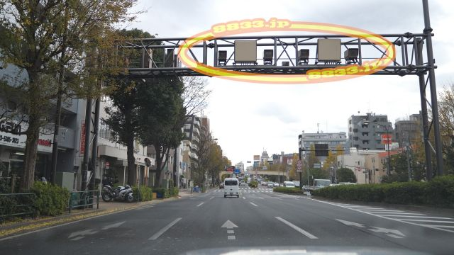 東京都 都道318号線(環七通り オービス