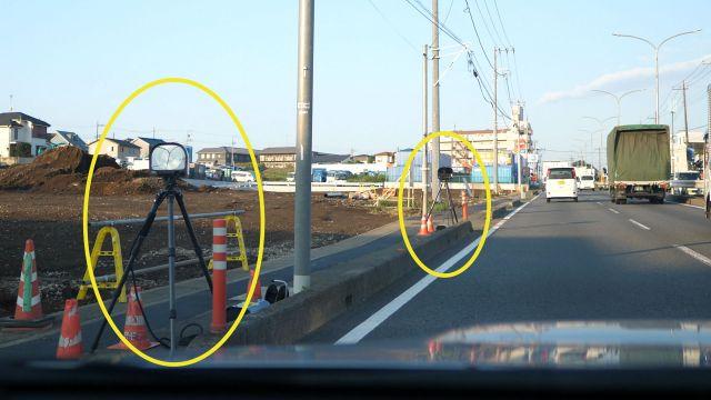 埼玉県 県道68号線(笹目通り) オービス