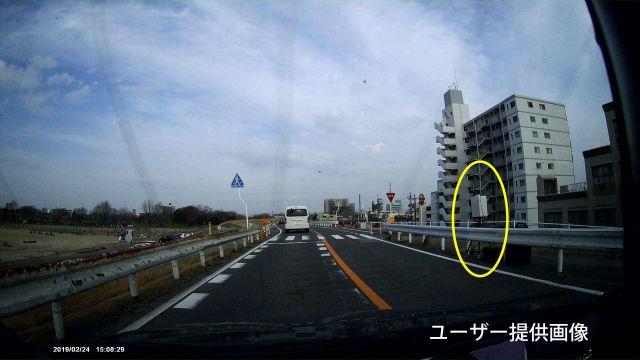 愛知県 県道106号線(庄内川堤防道路) オービス