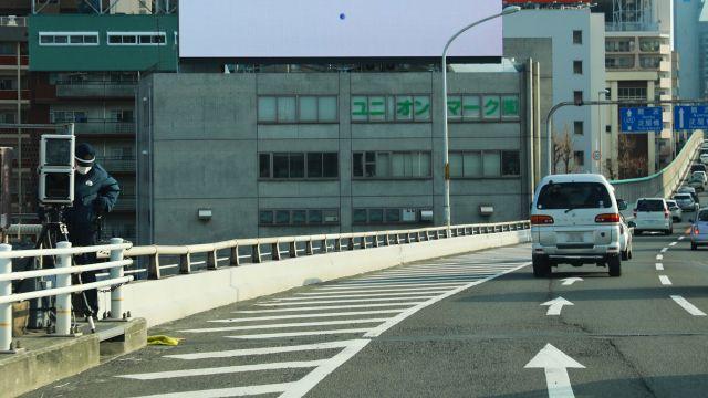 大阪府 423号線 オービス
