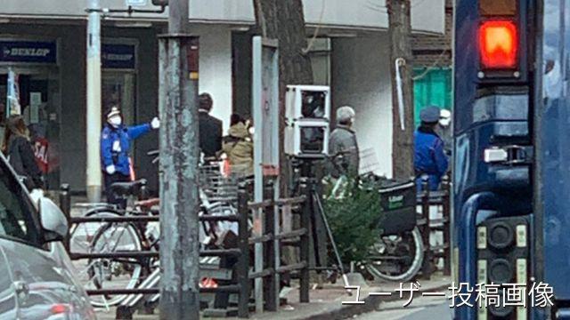 大阪府 新御堂筋高架下の平行道路 オービス