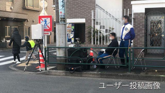 東京都 千川通り オービス