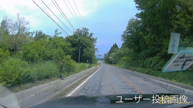 山形県 国道113号線 オービス