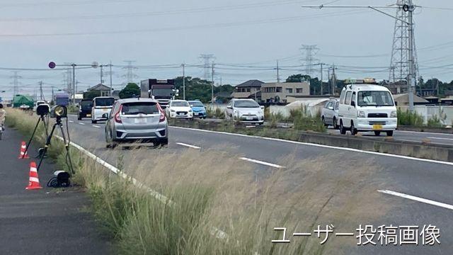 埼玉県 国道122号線 オービス