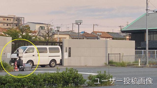 大阪府 国道170号線 オービス